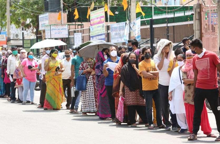 टीकाकरण का रेकॉर्ड : जयपुर जिले में एक दिन में 1.18 लाख युवाओं को लगा टीका