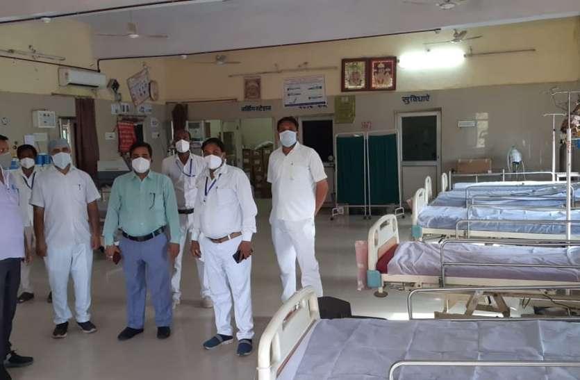 करौली जिले में काबू में आ रहा कोरोना, जिले में महज एक रोगी मिला