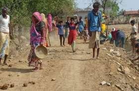 बांसवाड़ा : ग्रामीणों ने आर्थिक सहयोग से 700 मीटर मार्ग किया तैयार