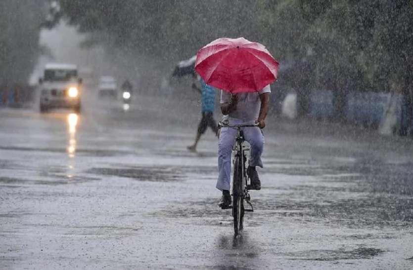 प्री मानसून का कमाल झमाझम बारिश से तरबतर हुई धरती