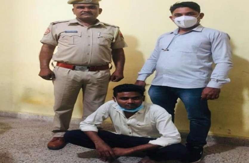 बालश्रम करवाने के लिए चूड़ी कारखाने पर छोड़ने वाला आरोपी गिरफ्तार