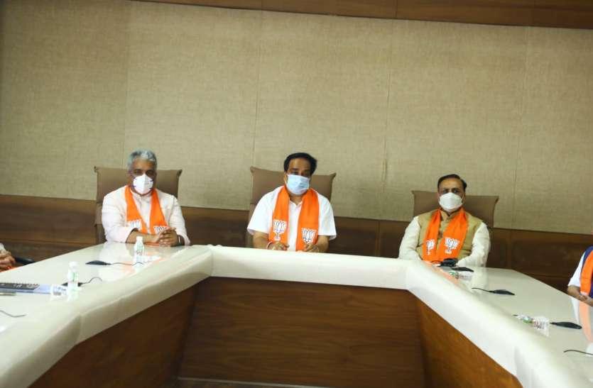 Gujarat:  गुजरात भाजपा विधायकों की 15 को अहम बैठक,  कांग्रेस को नए अध्यक्ष की तलाश