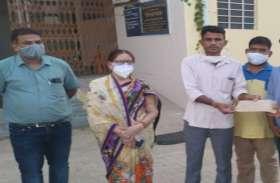 छलकती आंखों के साथ भाई बहन नेपाल रवाना