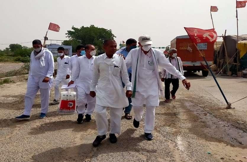 किसान आंदोलन : शाहजहांपुर-खेड़ा बॉर्डर के 'पड़ाव' स्थल से अब आ गई ये खबर, हर तरफ हो रही चर्चा
