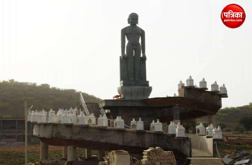 चीन के कैलाश पर्वत की तर्ज पर बन रहा है बरई में जिनेश्वर धाम तीर्थ