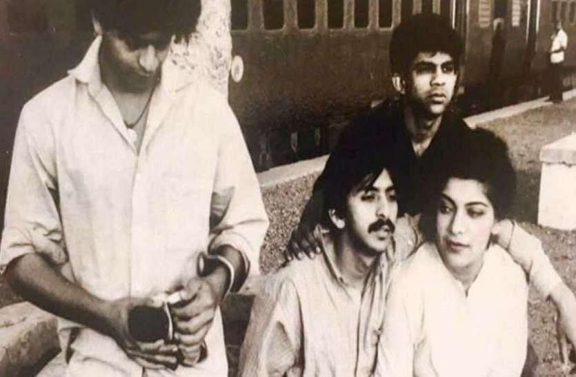 शाहरुख खान की थियेटर के दिनों की तस्वीर हुई वायरल