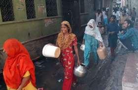 82 करोड़ की जल योजना से नहीं मिटी प्यास, शहर में 75 लाख लीटर पानी का कम आपूर्ति