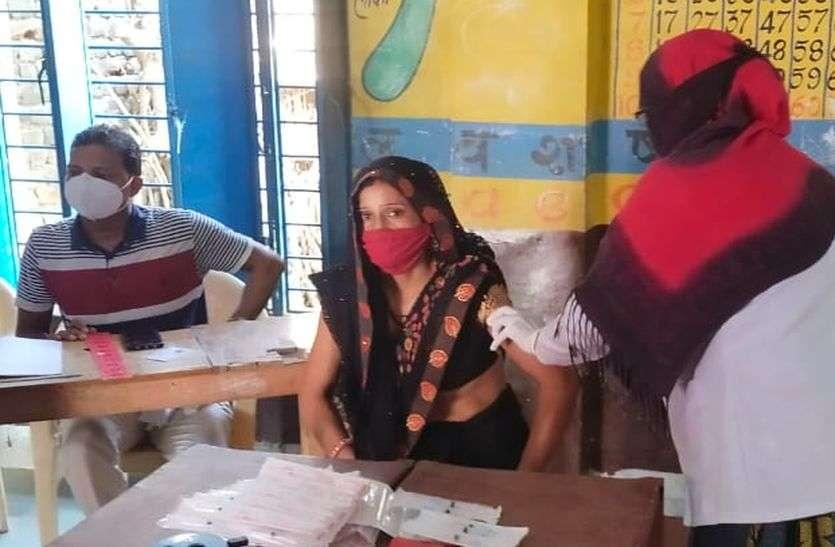 ग्रामीण क्षेत्र में भी लगातार बढ़ रहा टीकाकरण अभियान