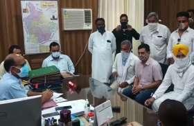 सिख समाज के लोगों का आरोप, भाजपा प्रत्याशी सत्ता का कर रहा गलत इस्तेमाल