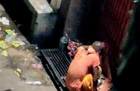 साधु भेष में आया चोर मंदिर के दानपात्र को कर गया साफ, अब सीसीटीवी खंगाल रही पुलिस