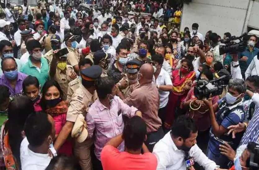 राम के नाम पर भिड़े शिवसेना-बीजेपी कार्यकर्ता: पुलिस ने किया लाठीचार्ज, 30 के खिलाफ मामला दर्ज