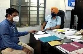 हनुमानगढ़ के अस्पतालों में काली पट्टी बांध जताया रोष, दो घंटे कार्य बहिष्कार