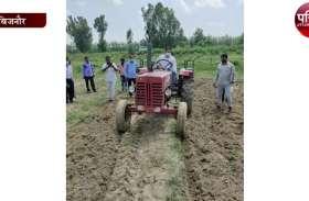 भूमाफिया से जमीन कब्जा मुक्त कराने के लिए एसडीएम ने खुद चलाया ट्रैक्टर, देखें वीडियो
