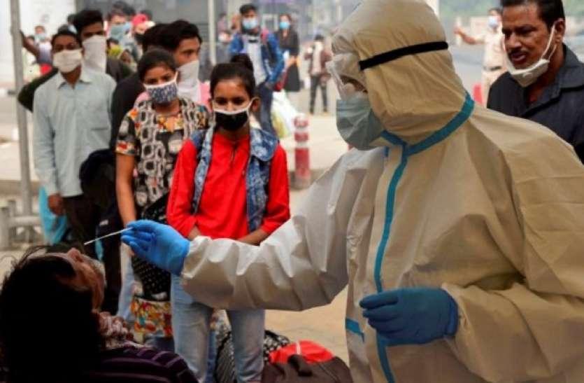 देश में कोरोना संक्रमण के मामलों में आई गिरावट, बीते 24 घंटे में रिकवरी रेट 96 प्रतिशत तक पहुंचा