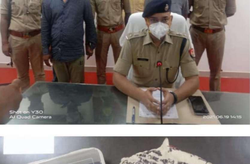 मुख्तार अंसारी का गुर्गा बताकर व्यापारी से मांगी रंगदारी, पुलिस व एसओजी टीम ने किया गिरफ्तार