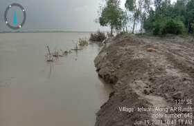 बाराबंकी में शुरू हुआ सरयू नदी का तांडव, देखें वीडियो