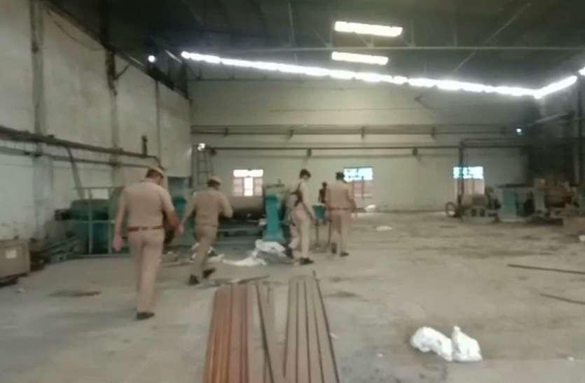 बिजनौर: रबड़ फैक्ट्री में हादसा, एक मजदूर की मौत दो गंभीर