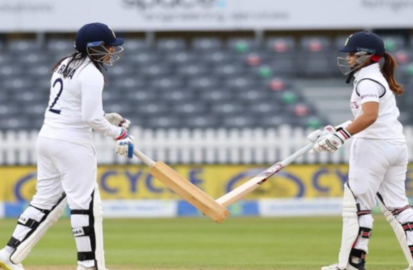 India vs Eng: स्नेह राणा और तानिया भाटिया ने टाली भारत की हार, ड्रॉ हुआ मैच