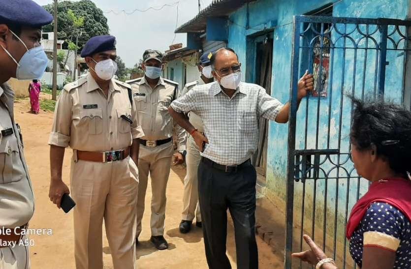 एसपी और एएसपी ने घटना स्थल का किया निरीक्षण, थाना प्रभारी को गिरफ्तारी के दिए निर्देश