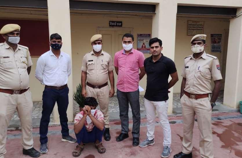 नकबजनी की वारदात का खुलासा, आरोपी गिरफ्तार