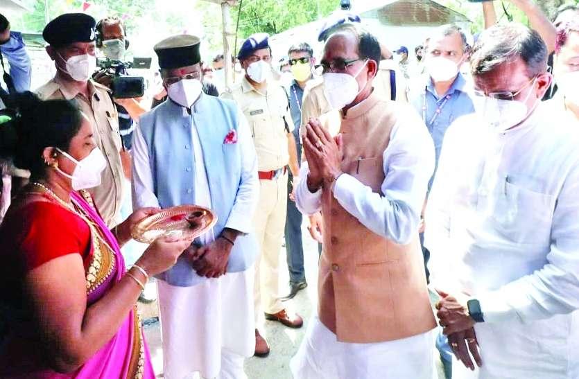 प्रदेश में रेकॉर्ड वैक्सीनेशन से गदगद हुए मुख्यमंत्री शिवराज