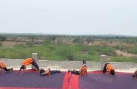योग दिवस पर आयोजित होंगे वर्चुअल शिविर