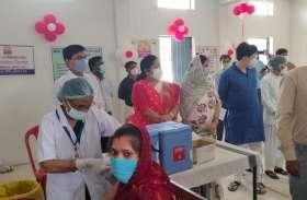 युवाओं ने वैक्सीनेशन में दिखाया उत्साह, शाम 7 बजे तक 22 हजार को लगा टीका