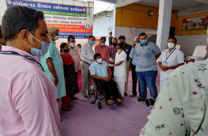 Gujarat:  गुजरात में आज से राज्यव्यापी कोरोना टीकाकरण महाअभियान