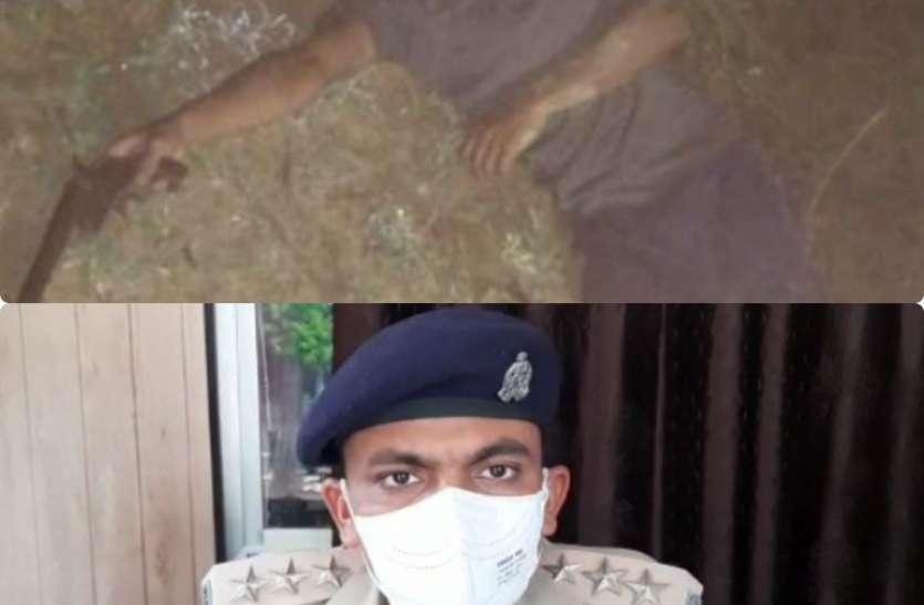 गोकशी करने वालों की तरफ से पुलिस टीम पर फायरिंग, एक अभियुक्त गिरफ्तार, तीन फरार