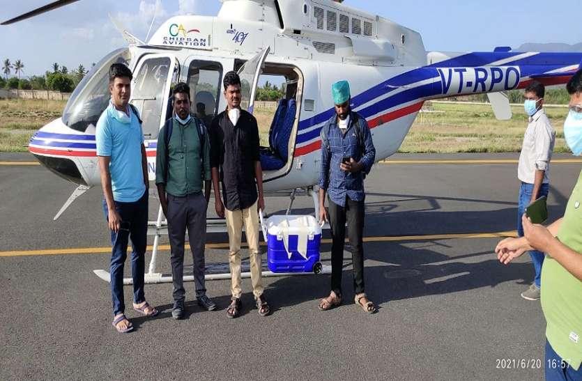दो घंटे से भी कम समय में सेलम से चेन्नई ले जाया गया ब्रेन-डेड युवक का अंग