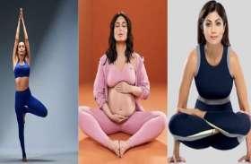 मलाइका से लेकर करीना तक योगा कर खुद को रखती हैं फिट