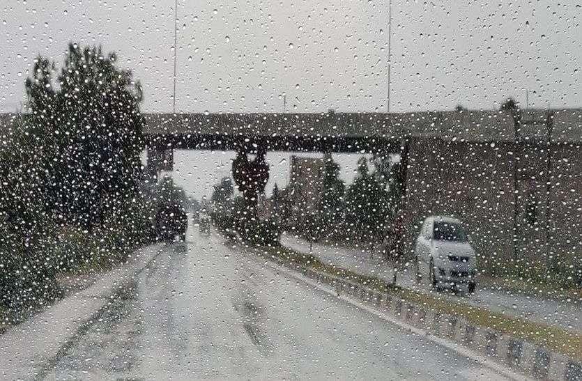 राजस्थान में आज 19 जिलों में आंधी व बरसात की संभावना