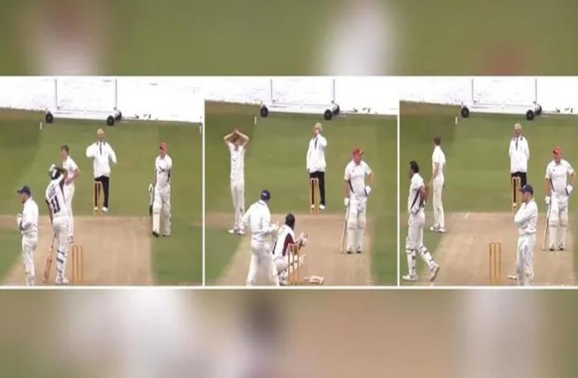 बल्लेबाज ने सिक्स लगाकर तोड़ दिया अपनी ही कार का शीशा, वायरल हुआ  खिलाड़ी का रिएक्शन