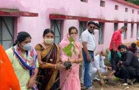 भाजपा का वृहद पौध रोपण अभियान हुआ प्रारंभ