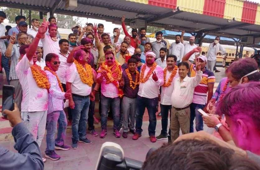 111 में से 68 वोट हासिल कर इश्पाक खान मंडल मंत्री बने, रेलवे मजदूर संघ बीकानेर मंडल के चुनाव संपन्न