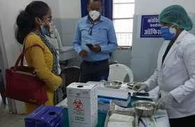 टीकाकरण केन्द्रों से निकला 168 किलो कचरा