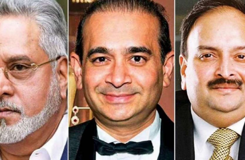 Ed transfers 9371 crore assets seized from Vijay Mallya Mehul Choksi and Nirav Modi to PSB Center