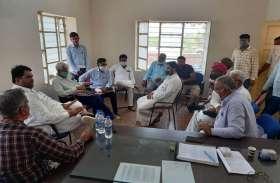 अधिकारियों की ली बैठक, एक सप्ताह में जलापूर्ति सुचारु करने के निर्देश