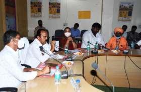पंचायत समिति सम की विशेष साधारण सभा की बैठक