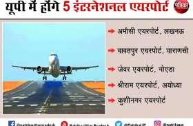 पांच इंटरनेशनल एयरपोर्ट वाला राज्य बनेगा उत्तर प्रदेश, कुशीनगर से जल्द शुरू होगी उड़ान