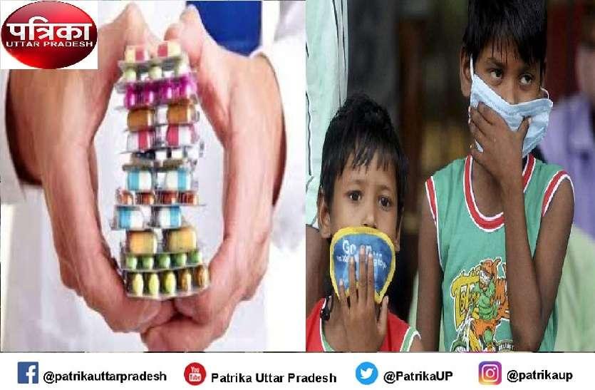 कोविड प्रोटोकॉल से बाहर की गई दवाएं बच्चों के किट में शामिल