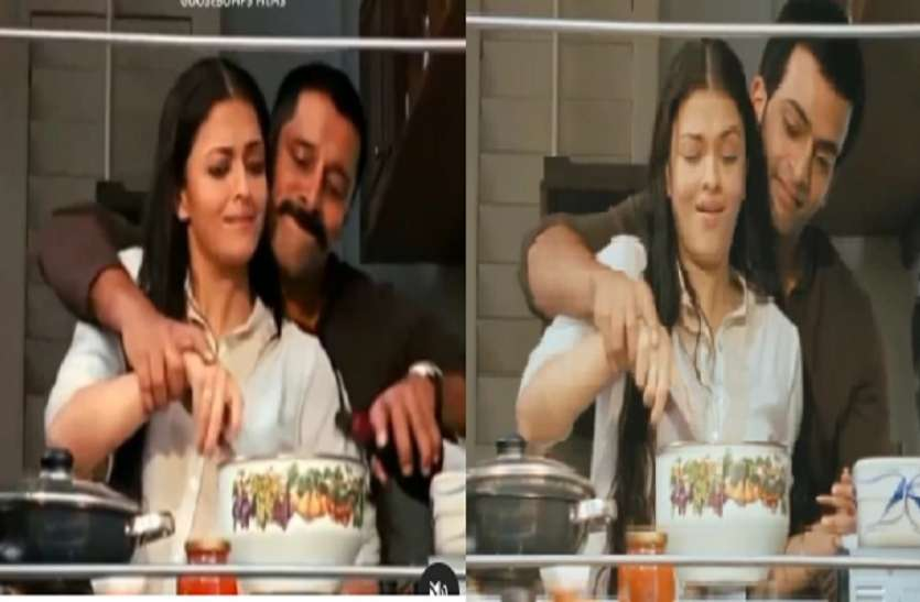 Aishwarya Rai Seamlessly Recreated Scenes With Vikram And Prithviraj – Aishwarya Rai Bachchan shot the film with two different actors at the same time, this scene was astonishing
