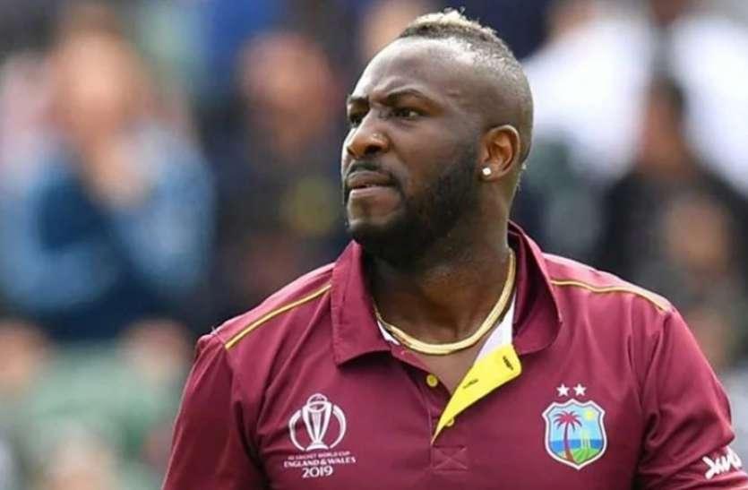 दक्षिण अफ्रीका के खिलाफ टी20 सीरीज में आंद्रे रसेल की टीम में वापसी