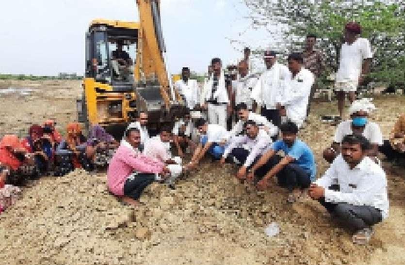 खानपुरा तालाब में पानी की आवक बढ़ाने के जतन शुरू