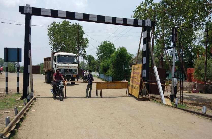 थानाप्रभारी ने नो एंट्री में भारी वाहनों पर जताई आपत्ति, एनएच के अधिकारियों ने वाहनों को रेलवे बायपास से किया डायवर्ट