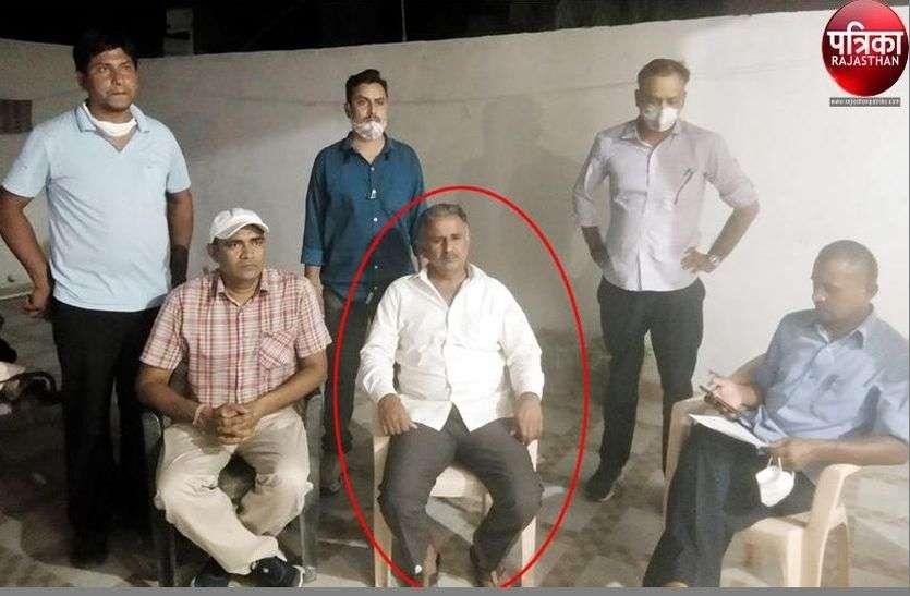 एसीबी की कार्रवाई : मारवाड़ जंक्शन थाना प्रभारी 25 हजार रुपए की रिश्वत लेते रंगे हाथों गिरफ्तार
