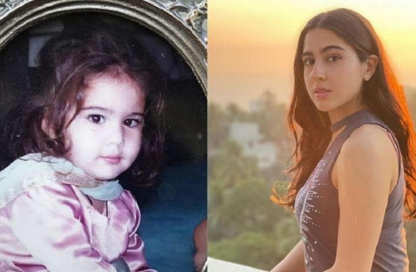Sara Ali Khan was very wicked in childhood, picture went viral