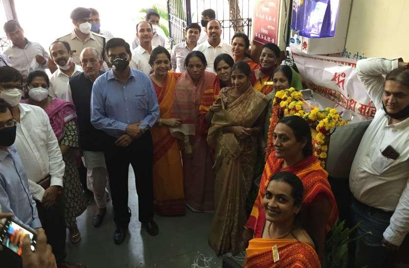 ओकलीपुरम केन्द्रीय विद्यालय में लगाया जलशुद्धिकरण संयत्र