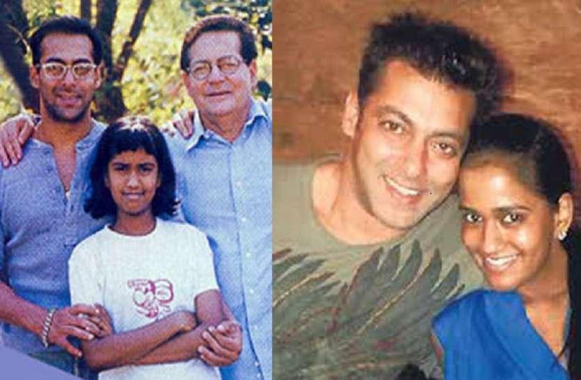 Salim Khan And Helen Adopted Arpita Khan