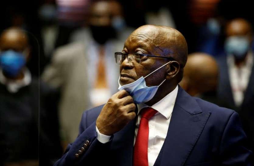 Former South Africa President Jacob Zuma Sentenced 15 Months In Jail